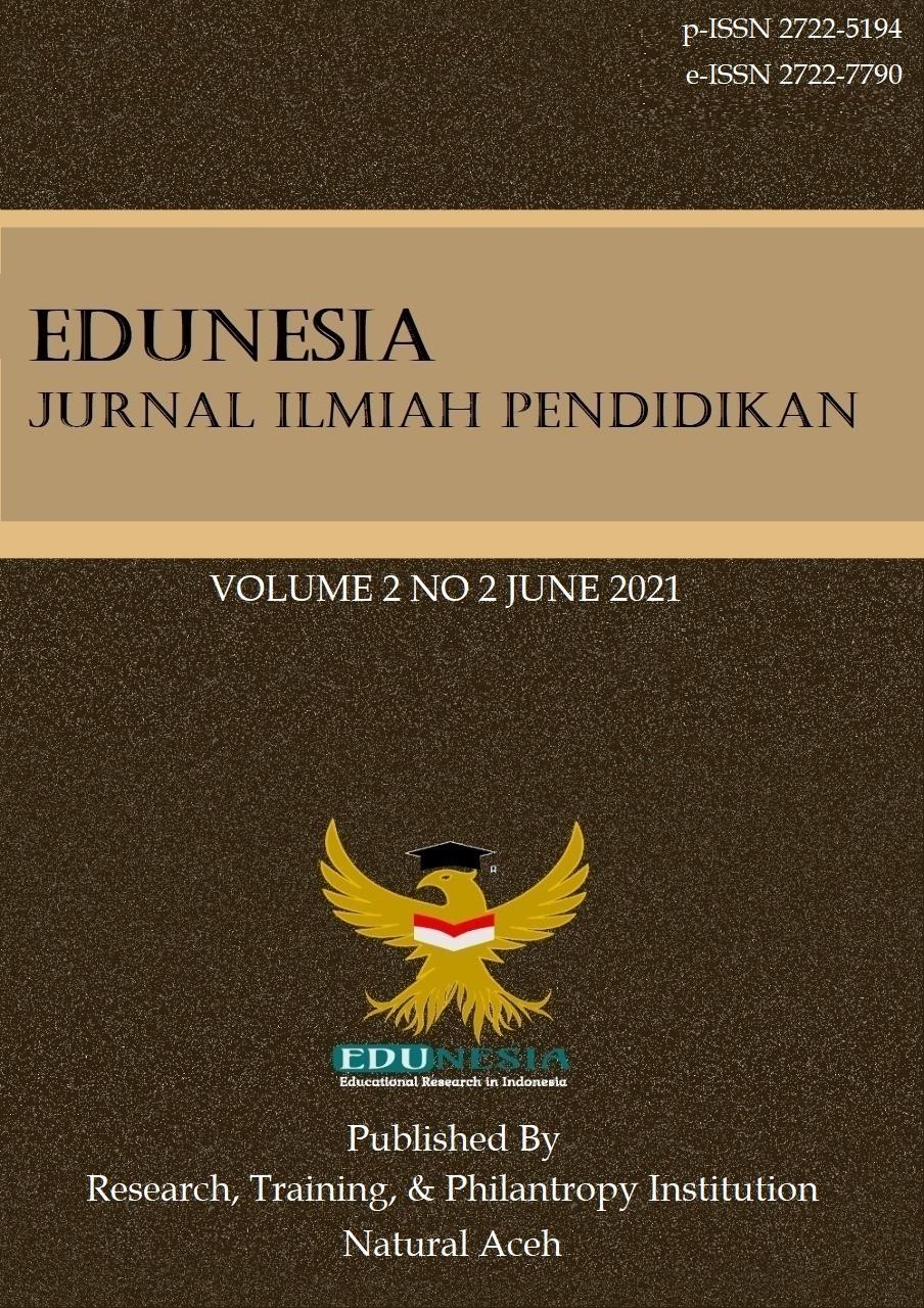 View Vol. 2 No. 2 (2021): Edunesia : Jurnal Ilmiah Pendidikan